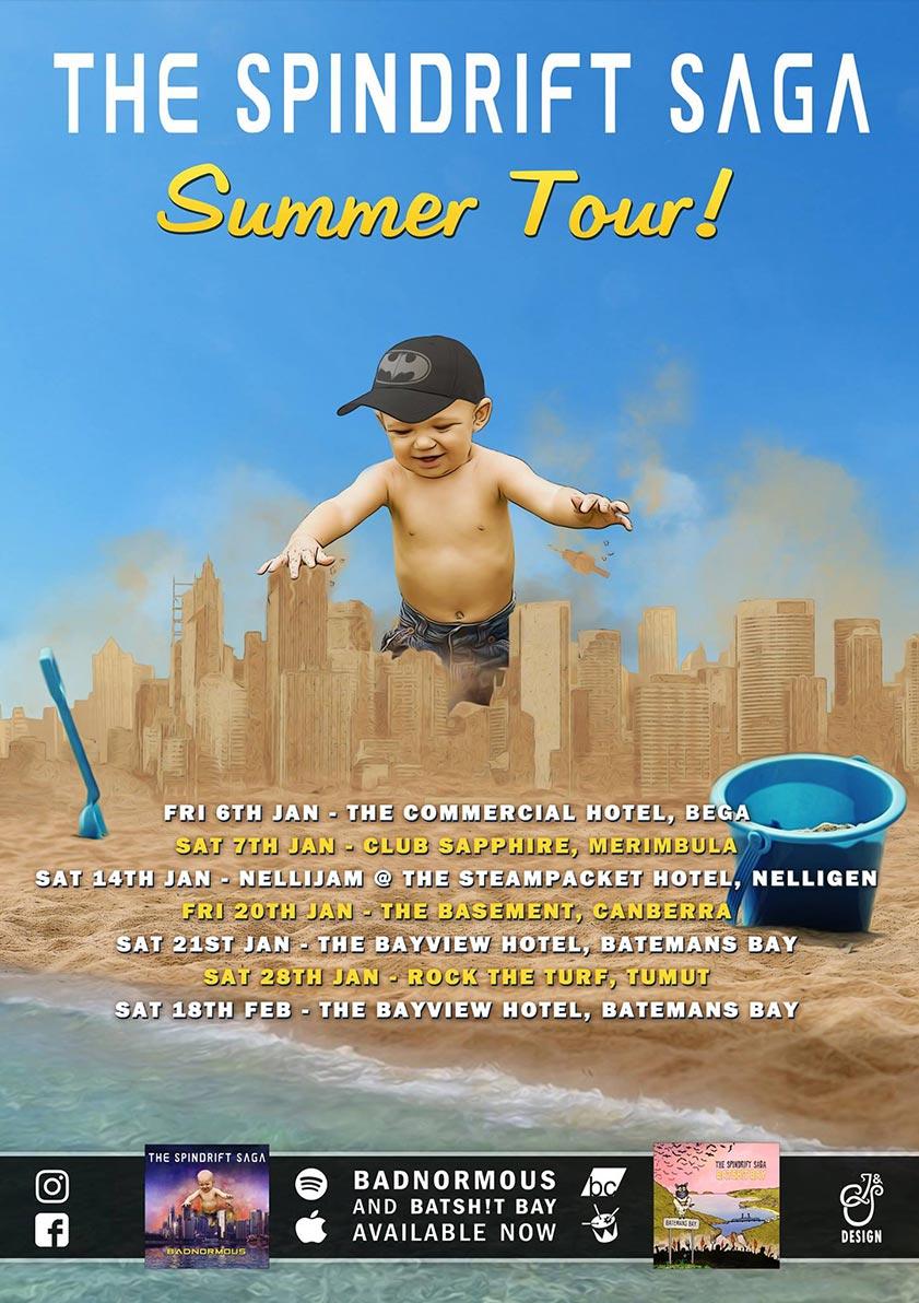 The Spindrift Saga - 2017 Badnormous Summer Tour