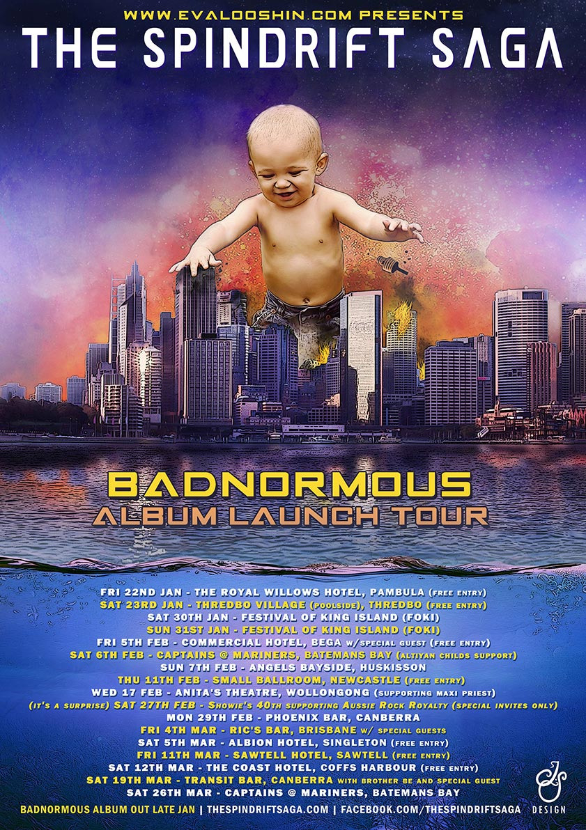 The Spindrift Saga - Badnormous Tour