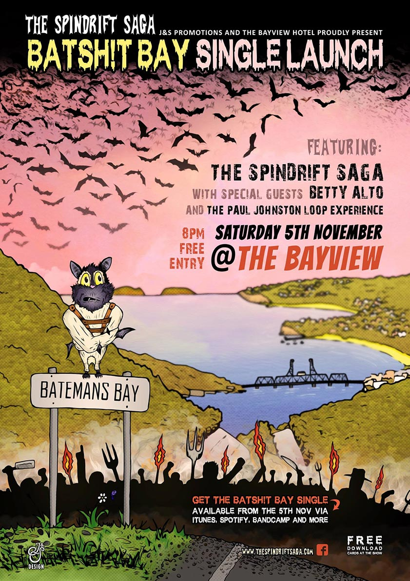 The-Spindrift-Saga-Batsh!t-Bay-Poster