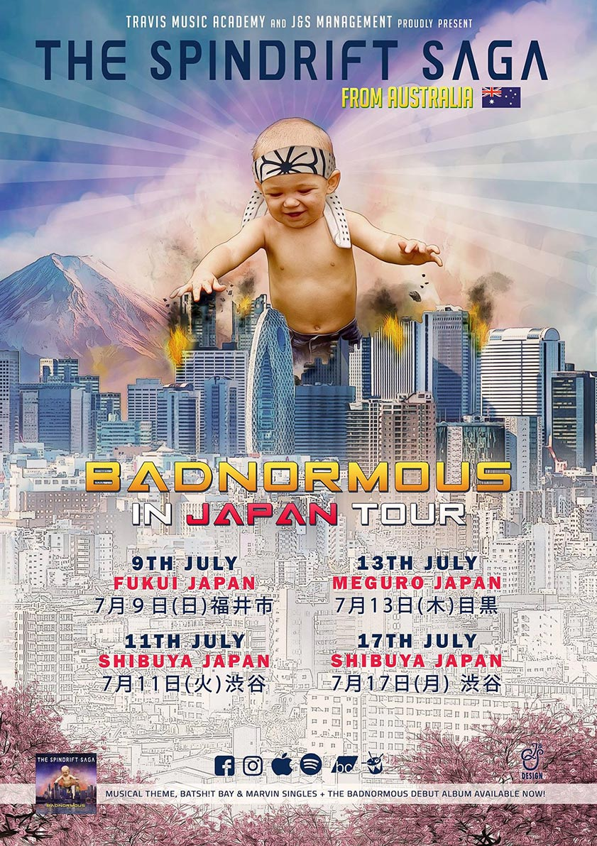 The Spindrift Saga - 2017 Japan Tour