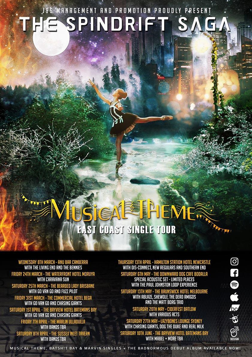 The Spindrift Saga - Musical Theme Tour